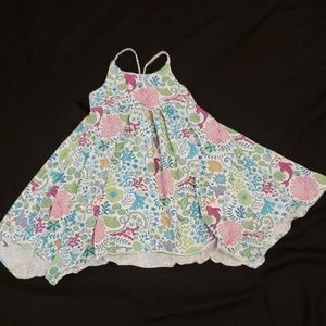 Tommy Bahama toddler high low dress.